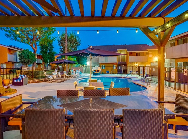 Magnificent Courtyard at Pacific Trails Luxury Apartment Homes, Covina, CA