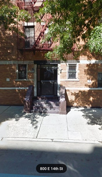 800 East 14th Street Studio Apartment for Rent Photo Gallery 1