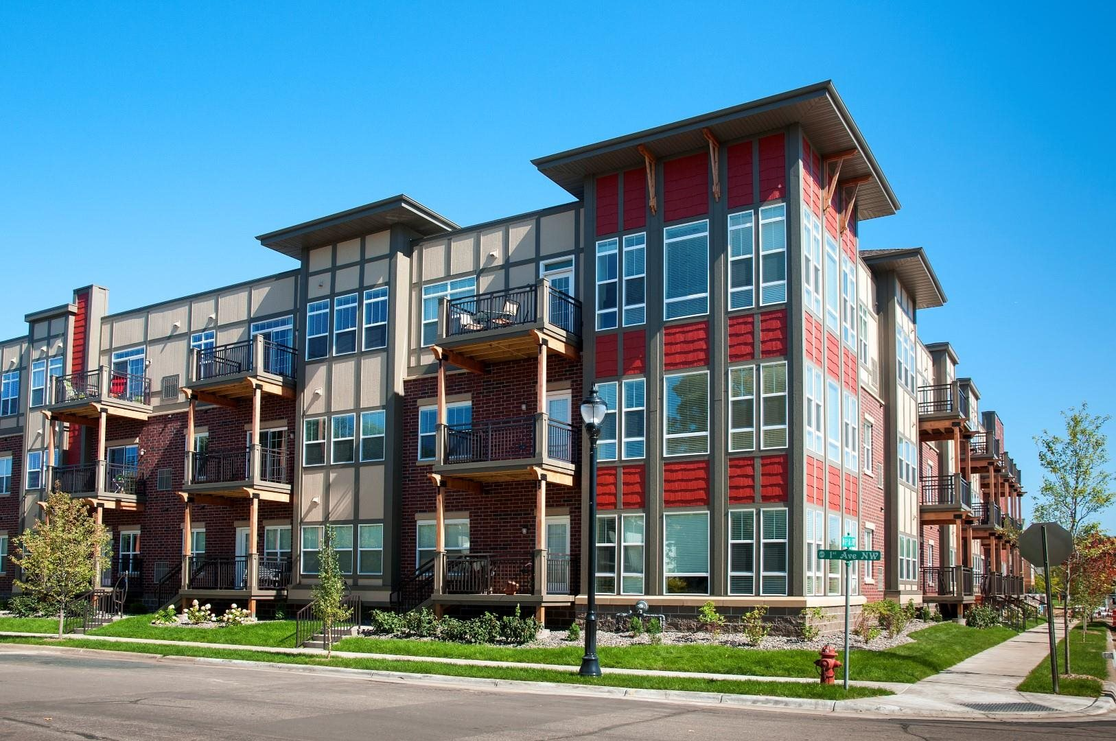 5 Central Apartments in Osseo received CDBG funds for a portion of Phase 1 construction.