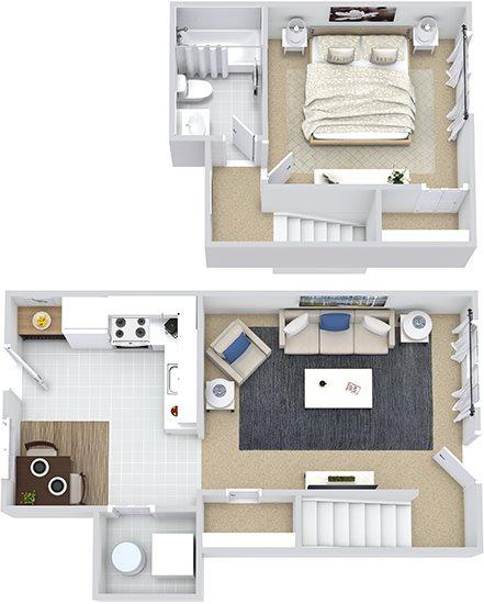 Chestnut Townhouse Floor Plan 5