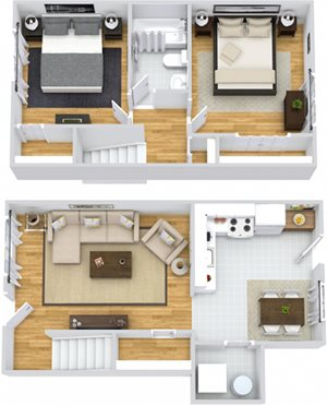 Hickory Townhouse
