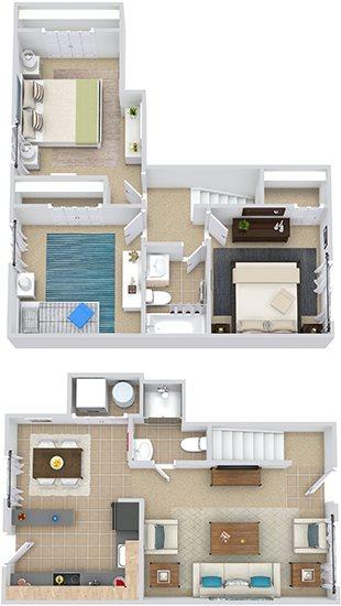 Maymont Townhouse Floor Plan 9
