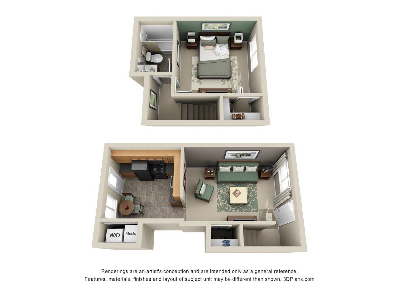 Poplar Townhouse Floor Plan 4