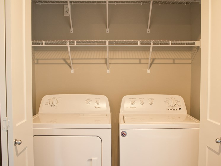29 West Apartments | Washer and Dryer