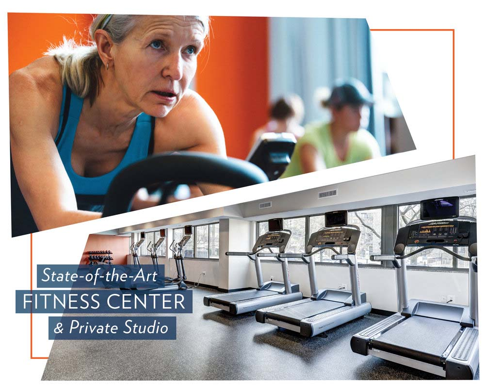State-of-the-Art Fitness Center at The Mark Apartments, Alexandria, 22304