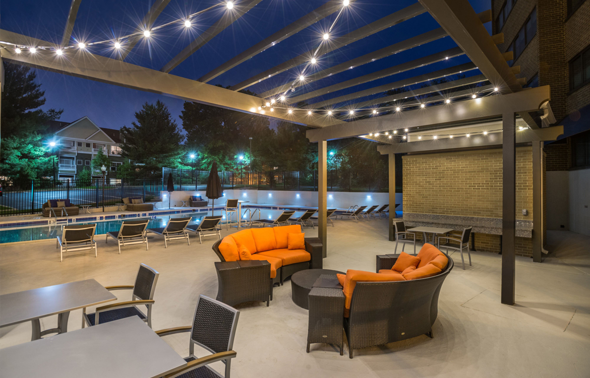 Relaxing Social Spaces For Residents And Guests at The Mark Apartments, Alexandria, VA, 22304