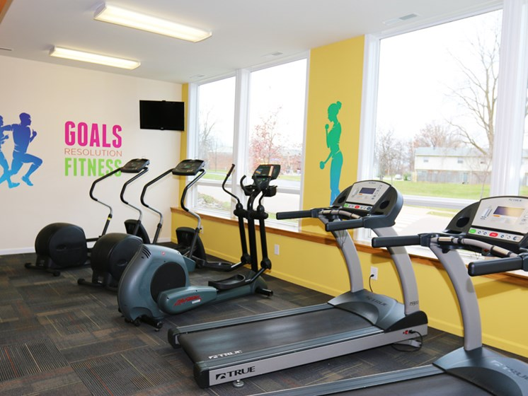 Apartments in West Carrollton, OH Gym1