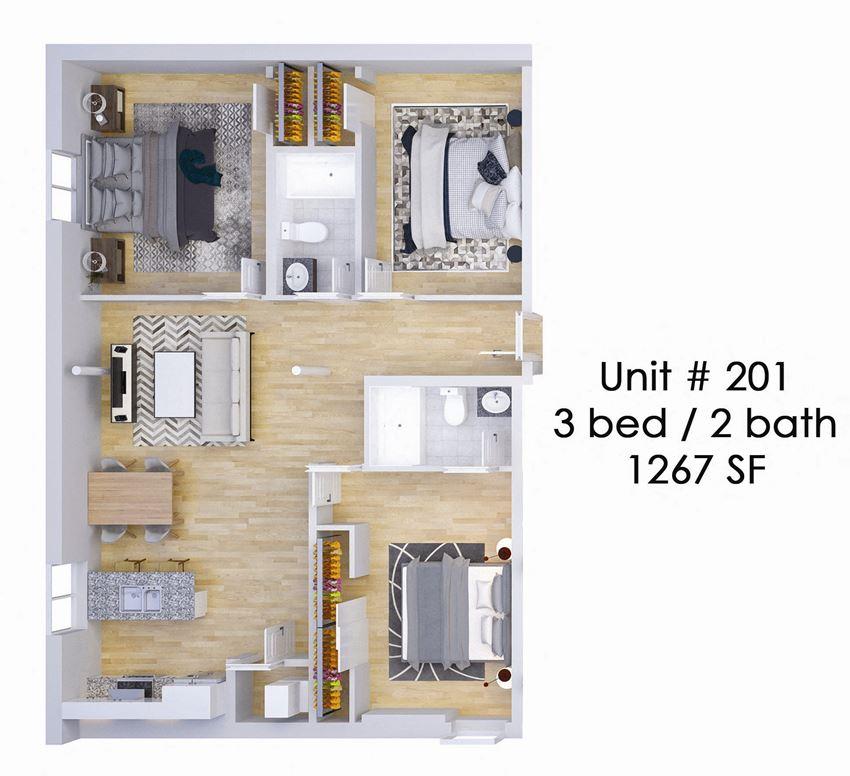 326 EAST Unit 201