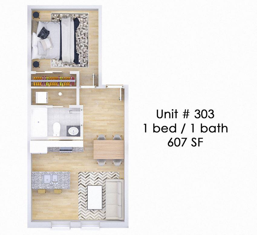 326 EAST Unit 303