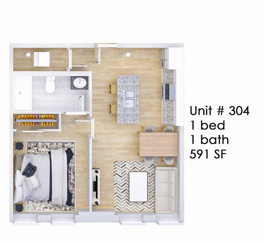 326 EAST Unit 304