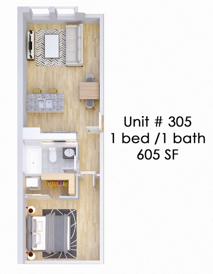 326 EAST Unit 305