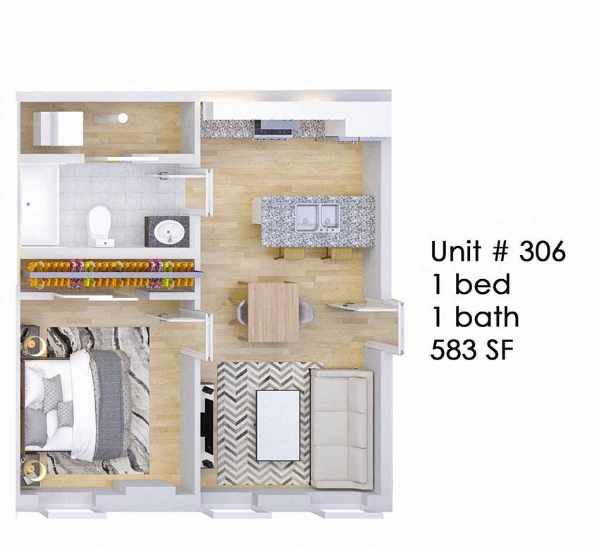 326 EAST Unit 306