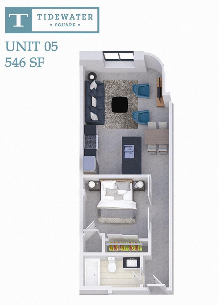 Tidewater Square Unit 05