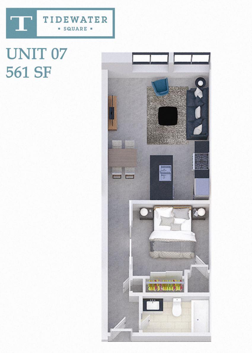 Tidewater Square Unit 07