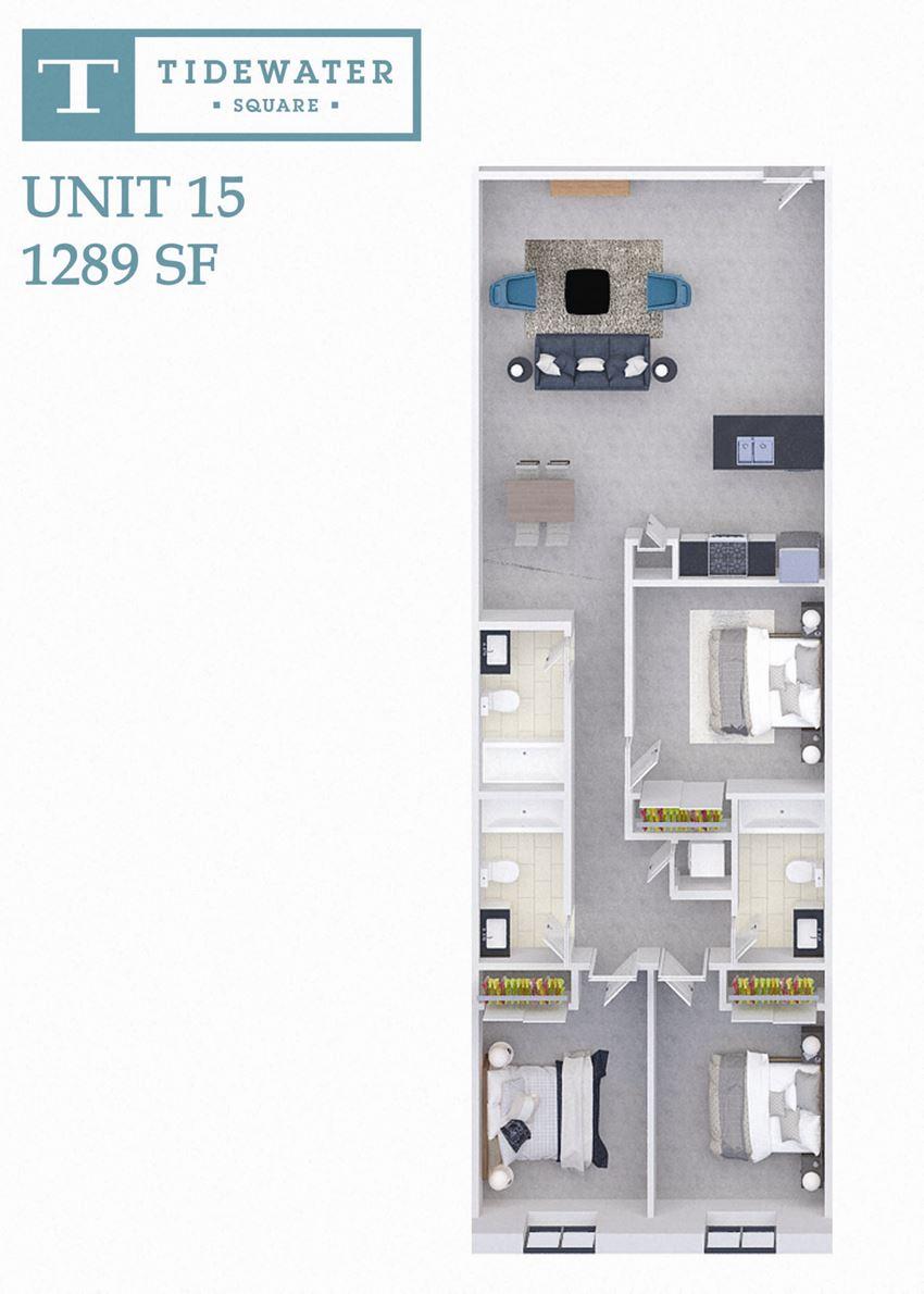 Tidewater Square Unit 15