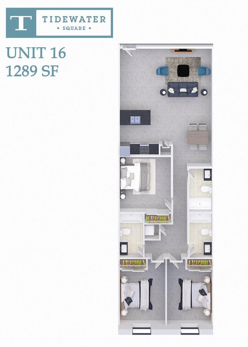 Tidewater Square Unit 16