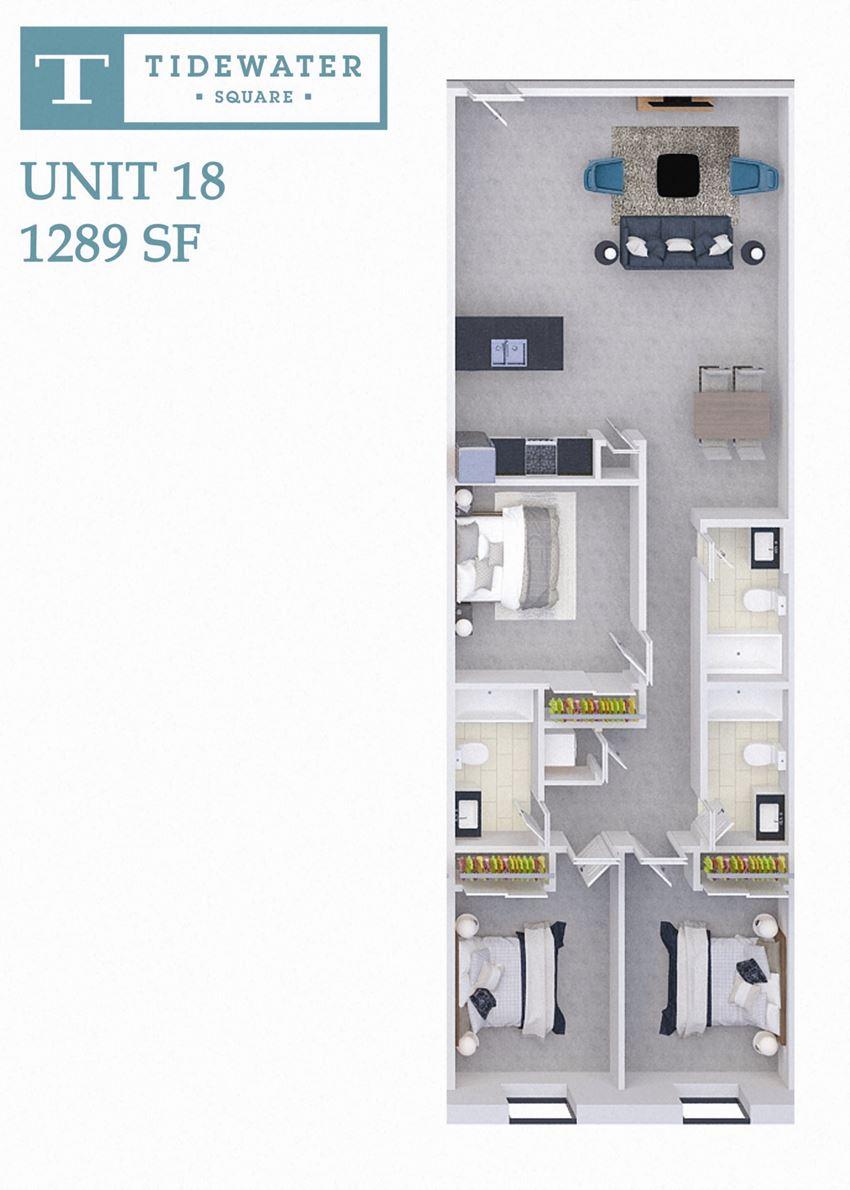 Tidewater Square Unit 18
