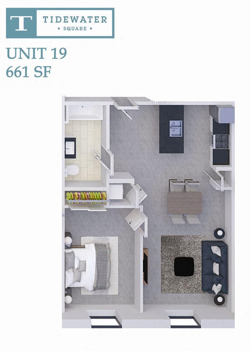 Tidewater Square Unit 19