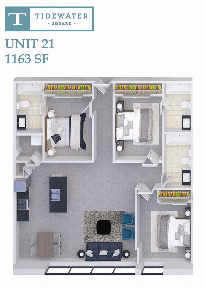 Tidewater Square Unit 21