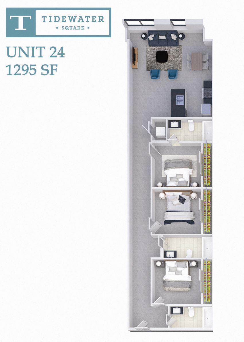 Tidewater Square Unit 24