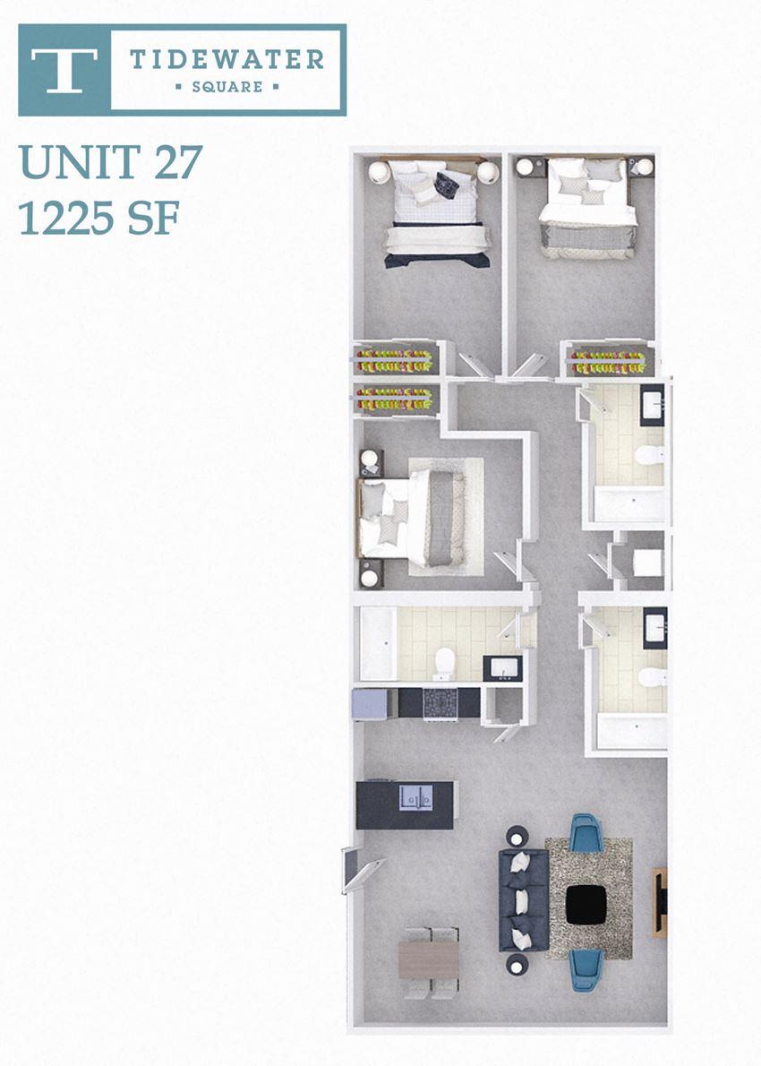 Tidewater Square Unit 27