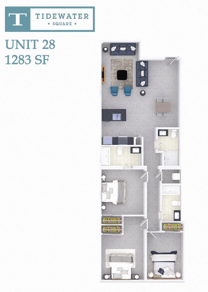Tidewater Square Unit 28
