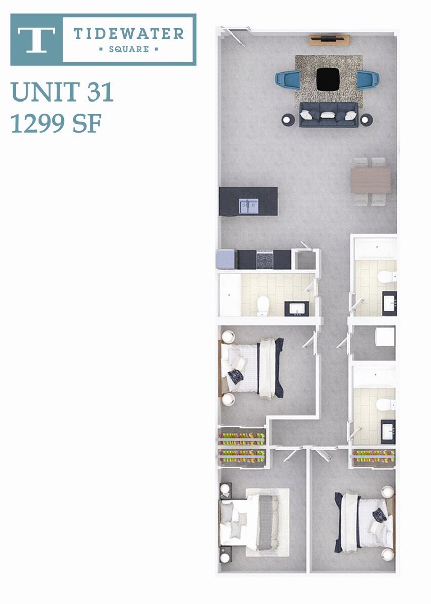 Tidewater Square Unit 31
