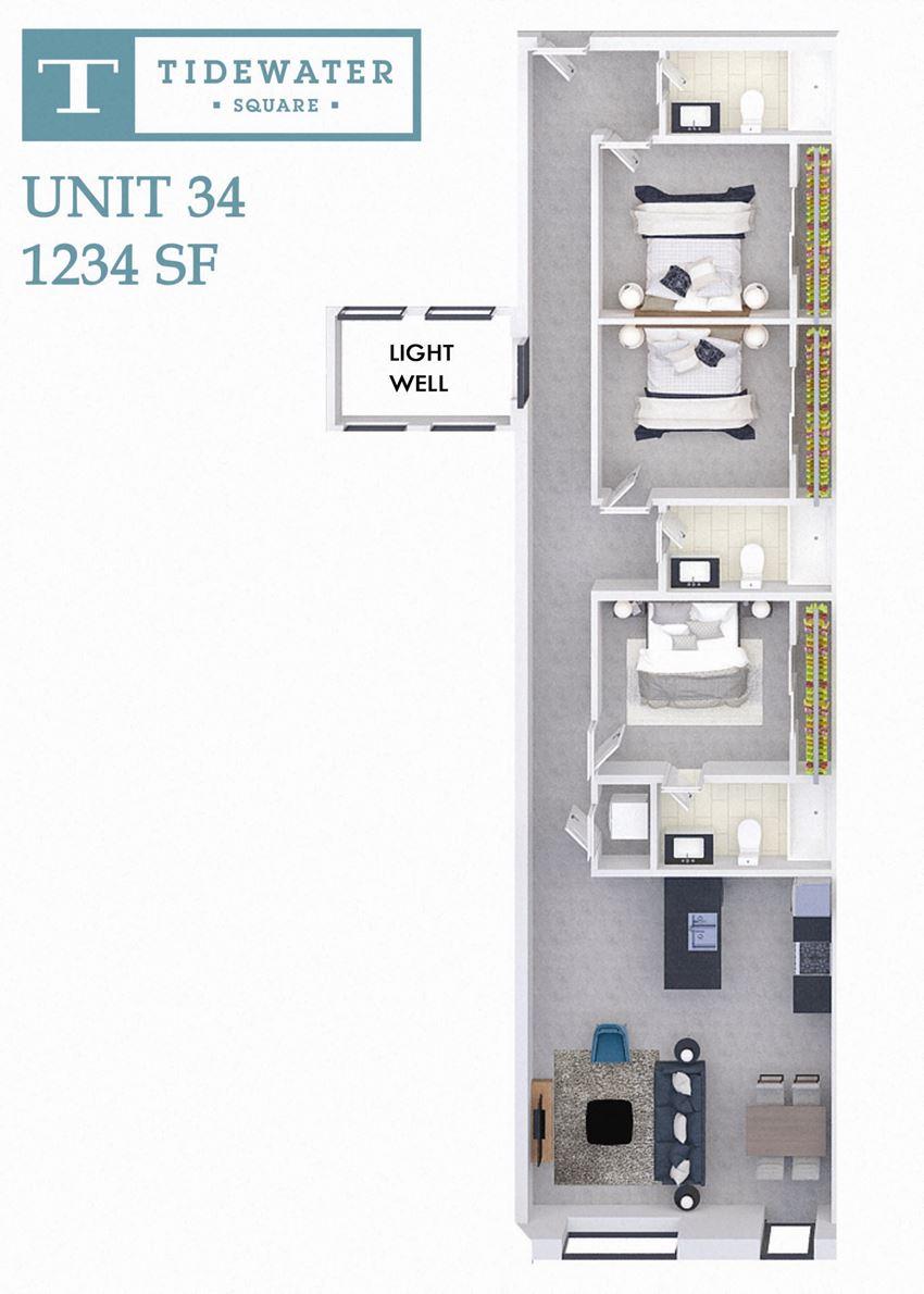Tidewater Square Unit 34