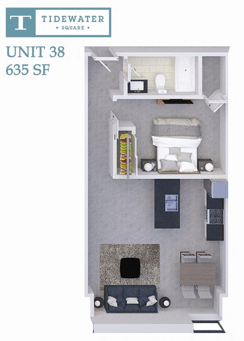 Tidewater Square Unit 38