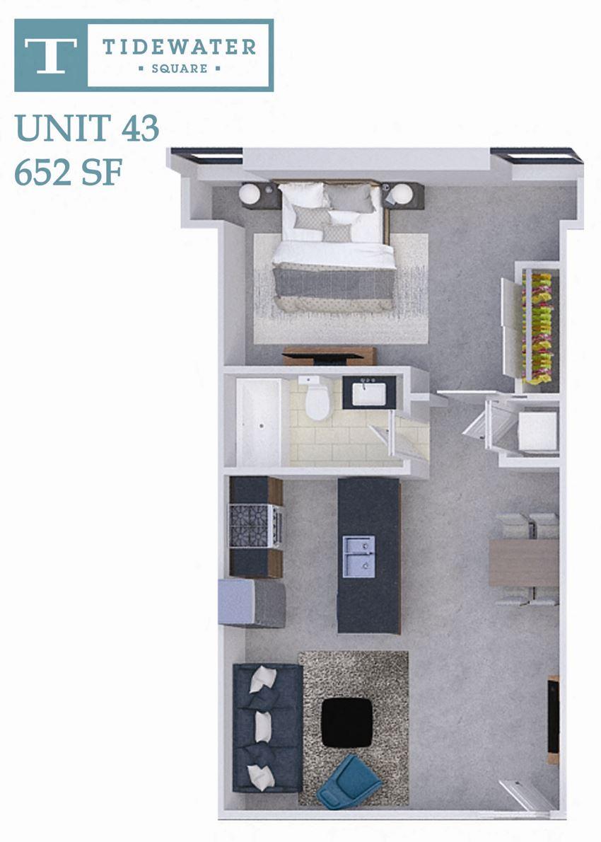 Tidewater Square Unit 43