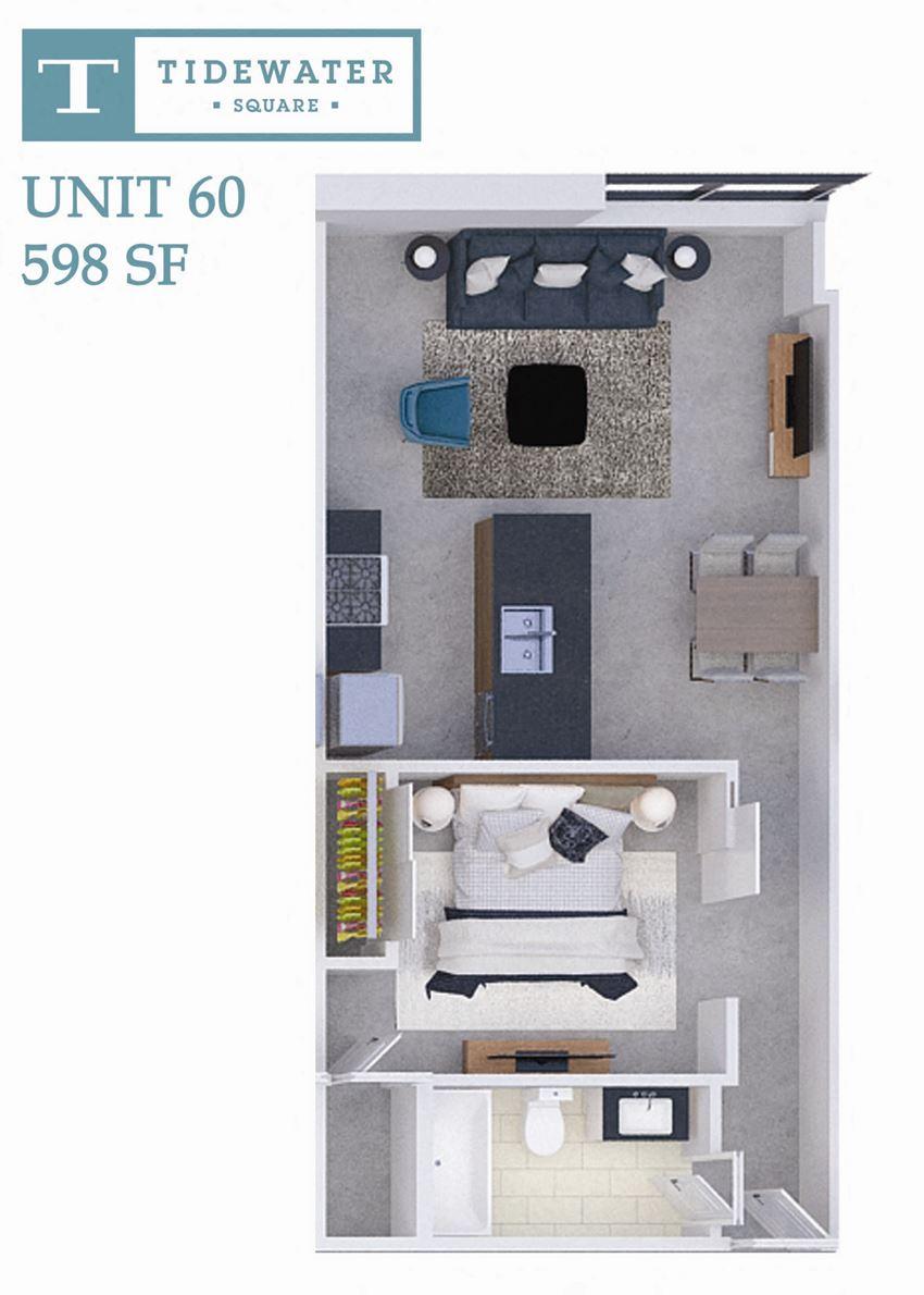 Tidewater Square Unit 60