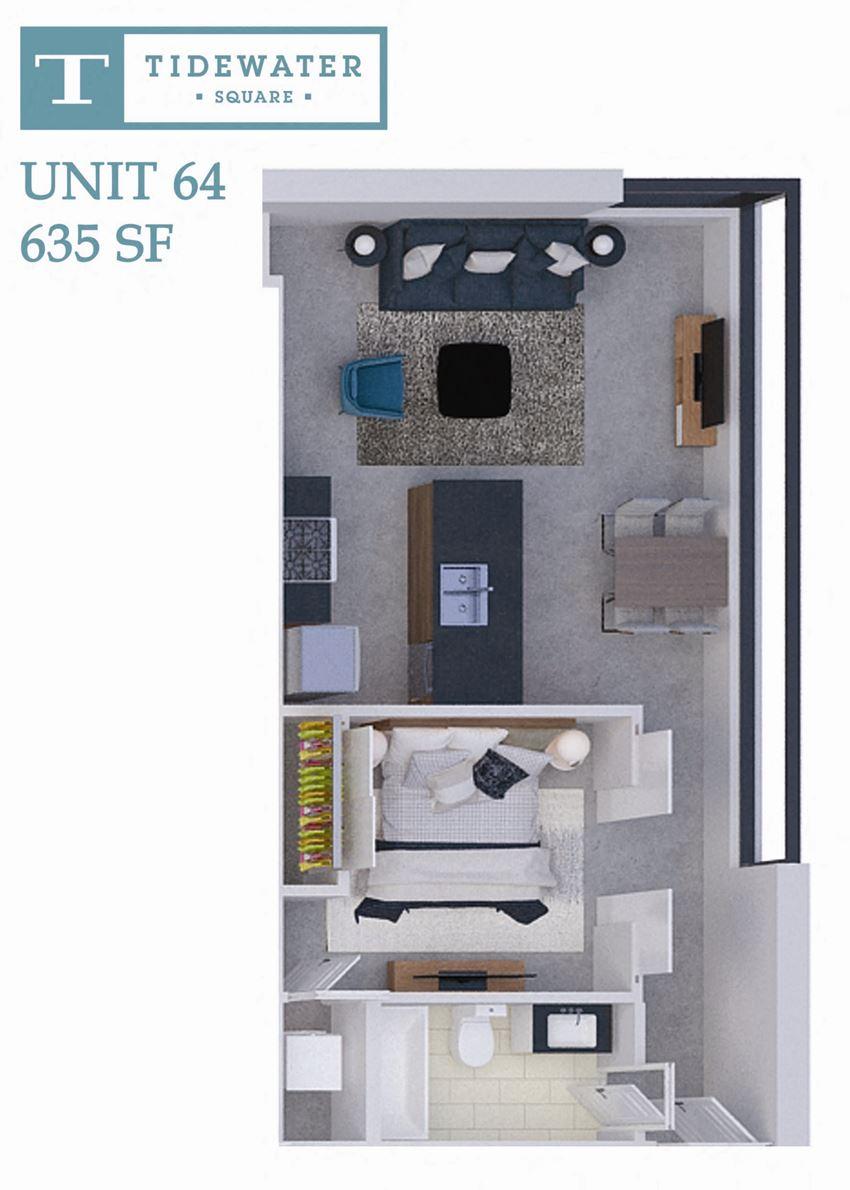 Tidewater Square Unit 64