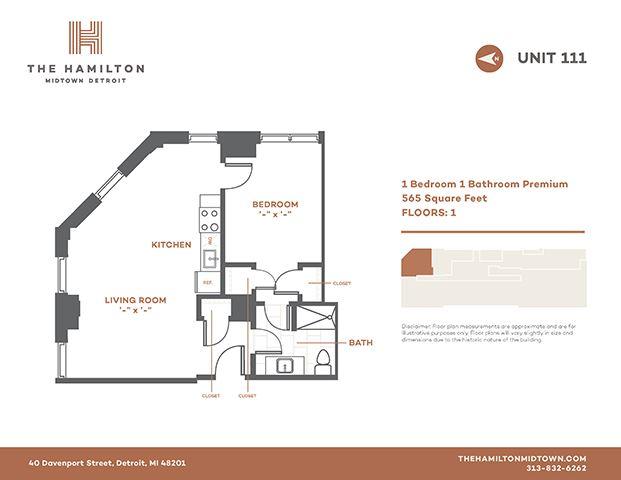 1 Bedroom Premier 111