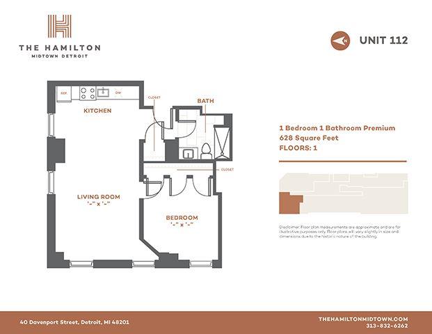 1 Bedroom Premier 112