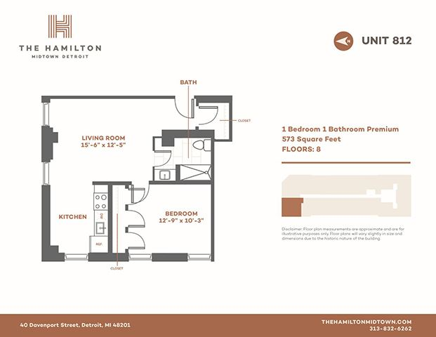 1 Bedroom Premier 812
