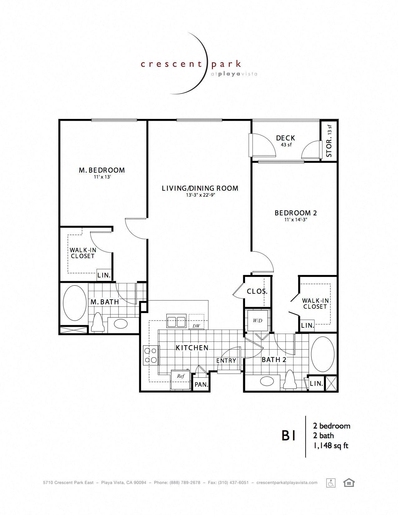 Contemporary Floor Plan 7