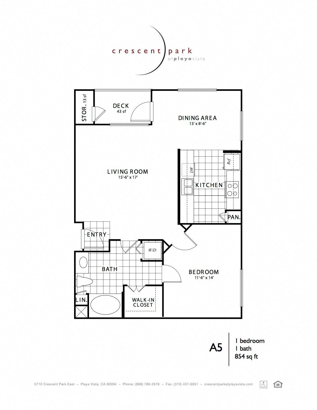 Reflect Floor Plan 5