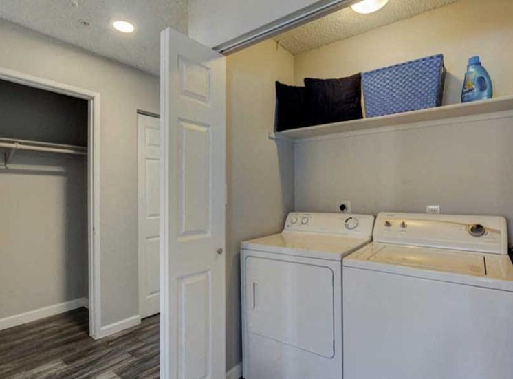 Washer, Dryer in Unit