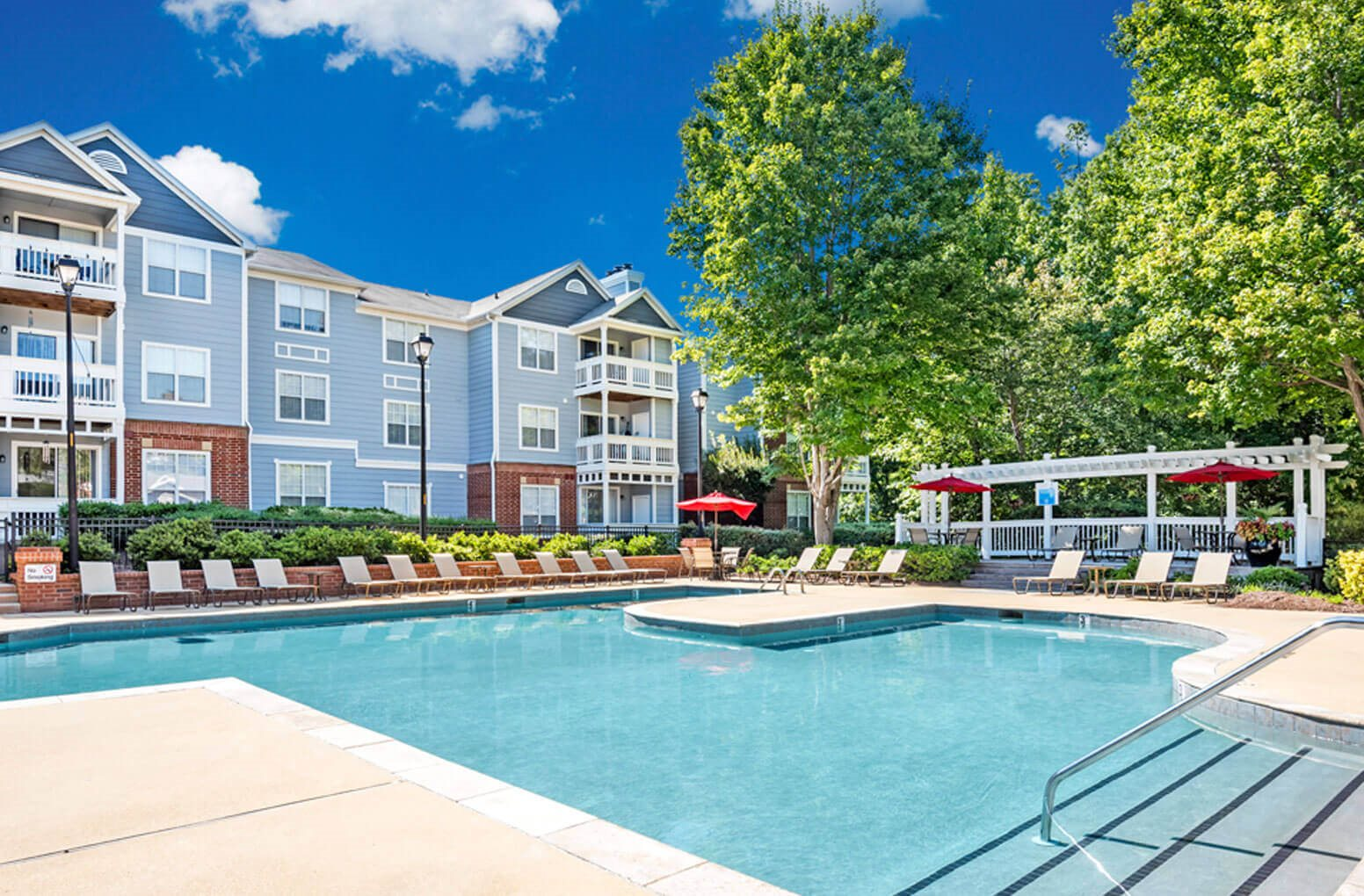 The Village Swimming Pool at The Village Apartments, Raleigh, 27615