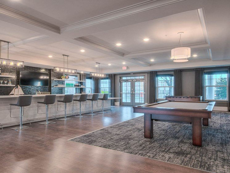 All Electric Community Kitchen In Clubroom at Village Center Apartments At Wormans Mill*, Maryland, 21701