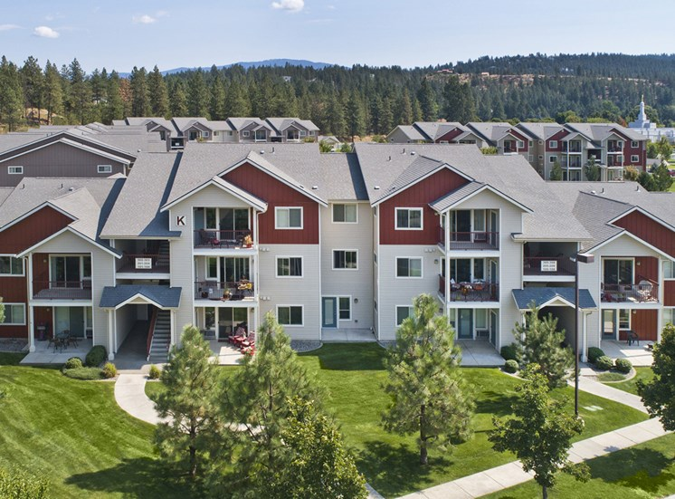 Pine Valley Ranch Apartments Aerial View 1