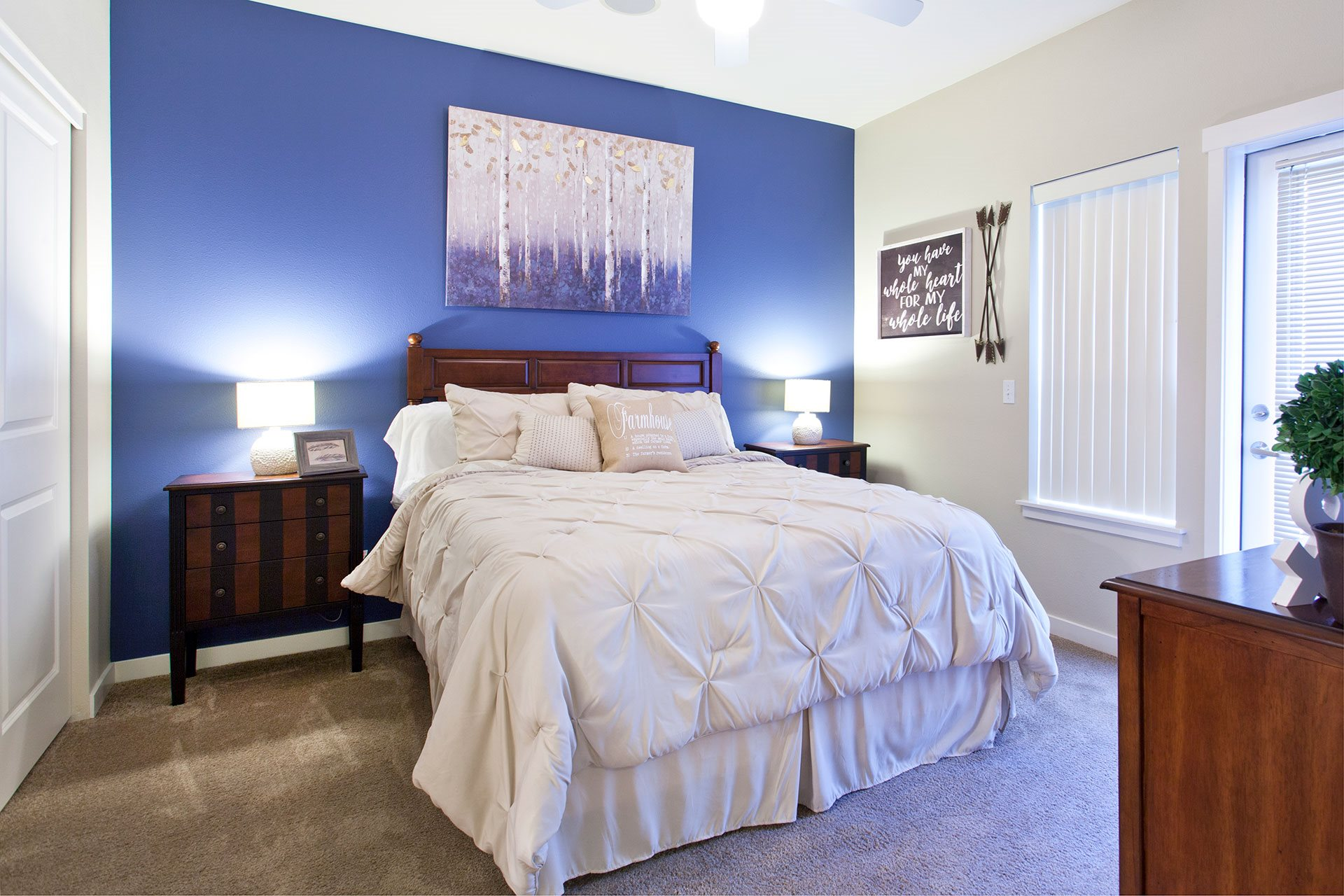 Pine Valley Ranch Apartments Bedroom