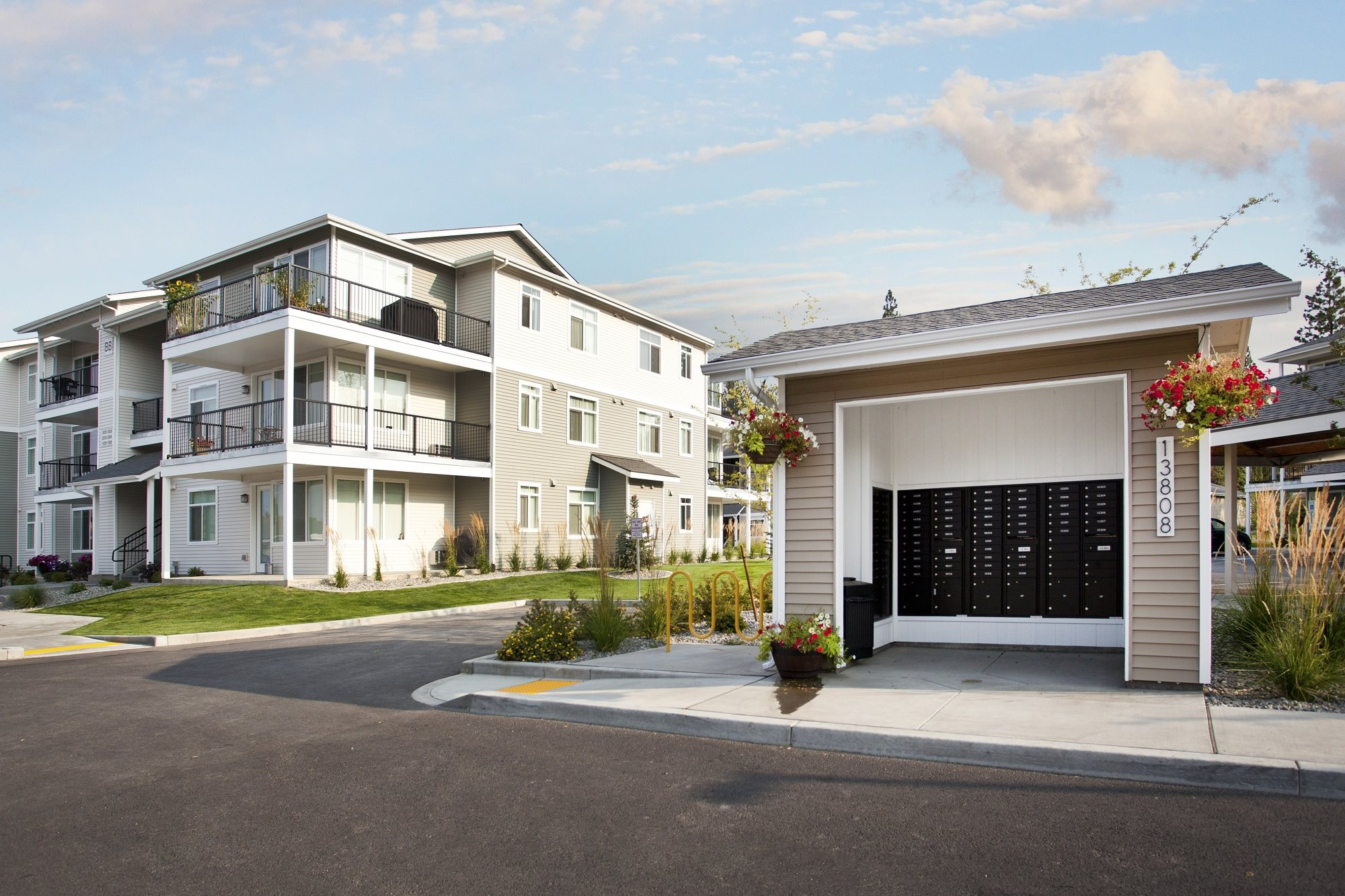 Pine Valley Ranch Apartments Mail Room Exterior
