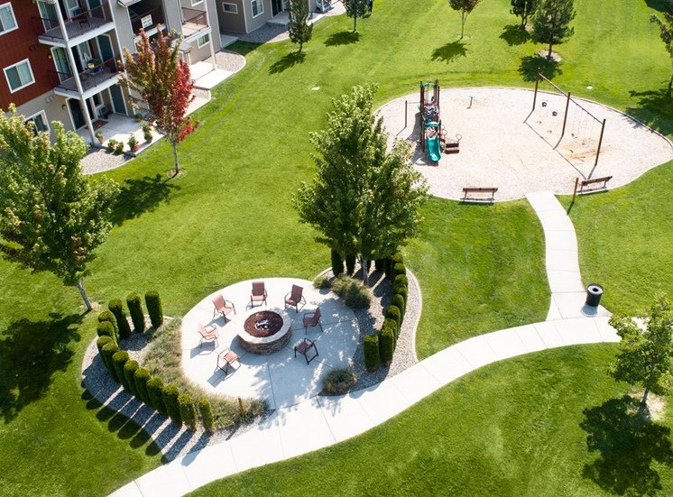 Pine Valley Ranch - Playground Arial View