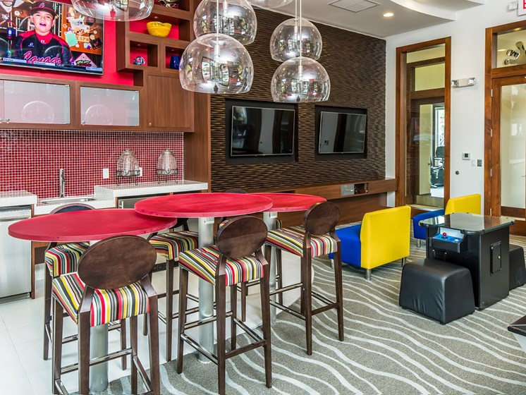 Resident Clubhouse with Coffee Bar and WiFi