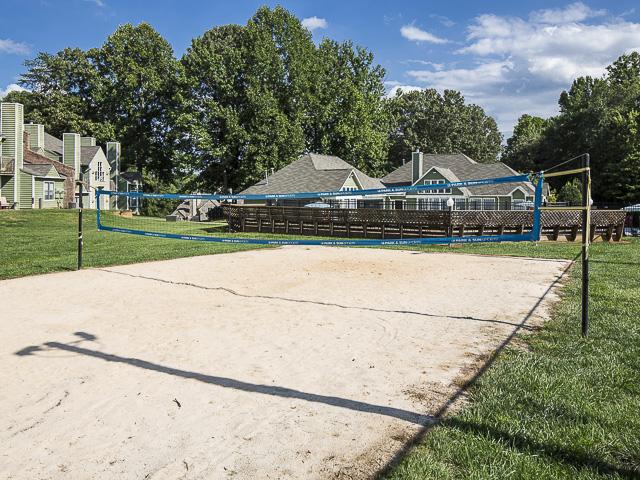 Sand Volleyball Court | Landmark at Battleground Park Apartment Homes Greensboro, NC