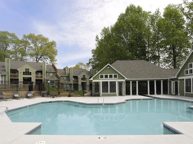 Resident Pool | Landmark at Battleground Park Apartment Homes Greensboro, NC
