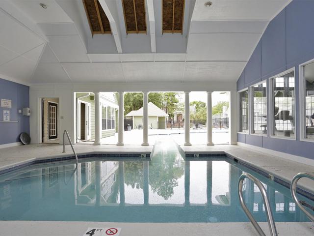 Indoor Pool | Landmark at Battleground Park Apartment Homes Greensboro, NC