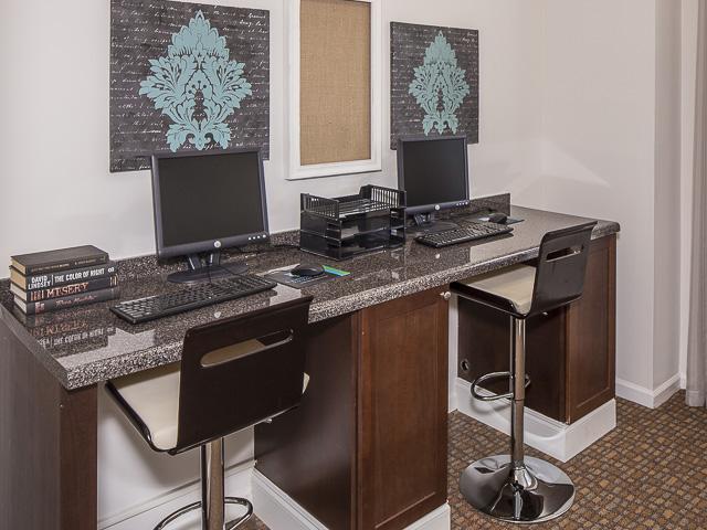 Business Center | Landmark at Battleground Park Apartment Homes Greensboro, NC