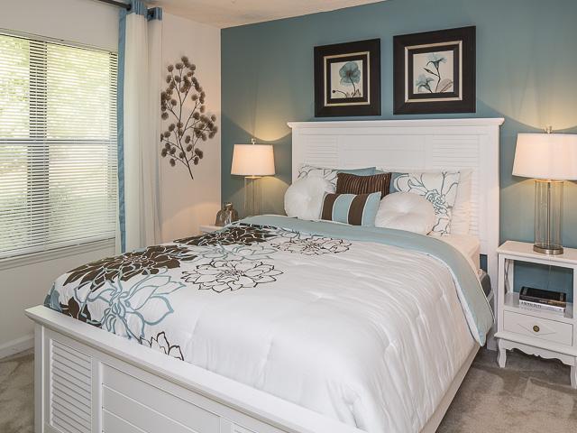 Bedroom | Landmark at Battleground Park Apartment Homes Greensboro, NC